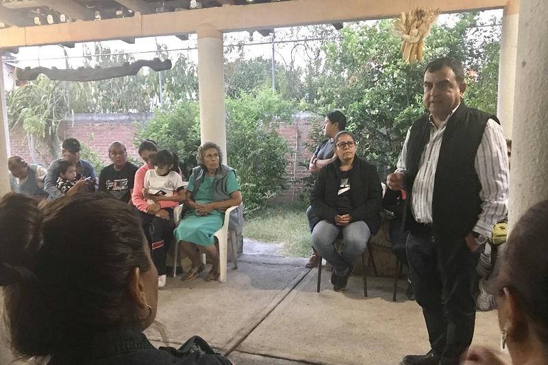 Para Constantino la falta de empleo es una de las causas de la inseguridad que se vive en Morelia