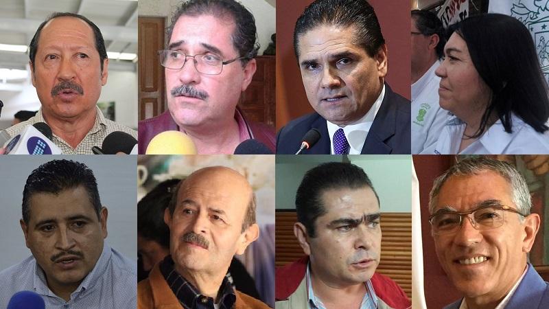 Leonel Godoy apoyando con todo a López Obrador; Fausto Vallejo sigue siendo priista, por lo menos de aquí a diciembre; y, Salvador Jara sigue siendo un neo priista. El simple hecho de que a ellos los líderes gremiales y sindicales no los toquen… me hace sospechar