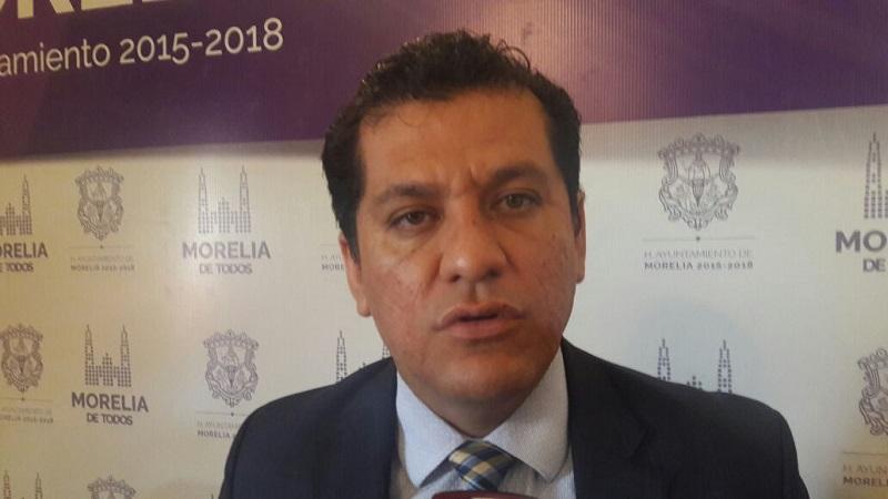 Va Ayuntamiento de Morelia por deudores del predial; embarga a banco del Centro Histórico y lo obliga a pagar adeudo: Guzmán Díaz