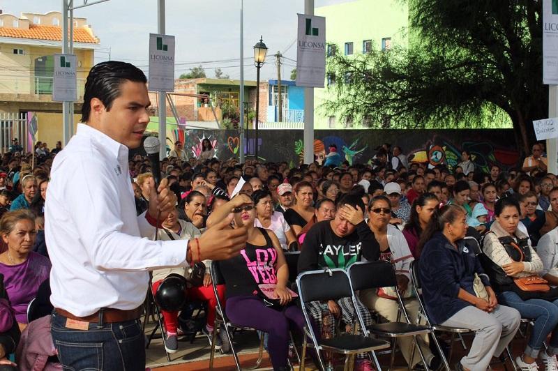 El Gobierno de la República, aliado de las mujeres de la entidad: Sergio Flores Luna