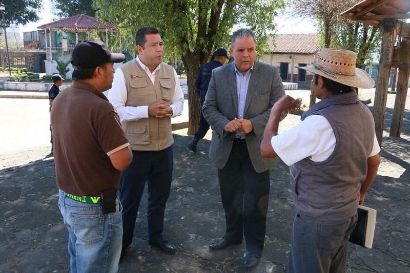 Barragán Vélez agradeció al subsecretario de Educación Media Superior y Superior, Francisco Luis Sánchez Alfonso, por acompañarlo a conocer las necesidades de este plantel ubicado en el corazón de la Meseta Purépecha