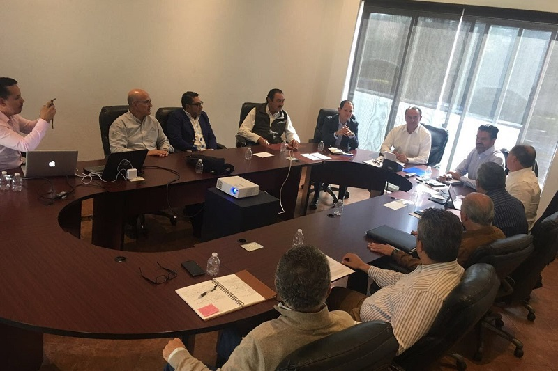 Esta reunión se llevó a cabo en seguimiento al encuentro de trabajo celebrado el pasado 31 de agosto, que fue encabezado por el gobernador Silvano Aureoles