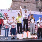 Participaron más de 3 mil 100 personas en esta actividad deportiva que se realizó en la capital michoacana