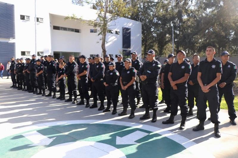 El nuevo personal será desplegado a municipios que requieran mayor número de policías y cuenta con la preparación inicial para realizar las labores operativas