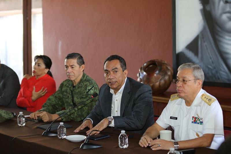 Se emprenderá un plan sistemático de operación para todo el estado con vigilancia permanente