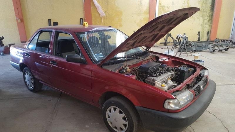 En acción operativa con Sedena y SSP, cateó domicilio en el que recuperó un vehículo con reporte de robo