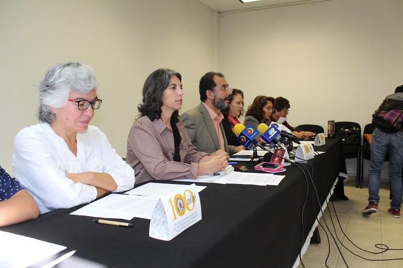 En unos cuantos días de logró el consenso de asociaciones civiles, colegios de profesionistas, organizaciones migrantes y cuerpos académicos para suscribir un pronunciamiento público