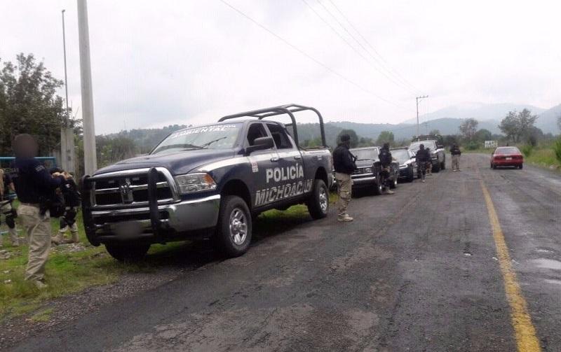 También fueron aseguradas 26 armas largas y cinco cortas, 78 cargadores, mil 873 cartuchos, seis cabezas de ganado, equipo táctico y un plantío de marihuana, con una superficie de mil 248 metros cuadrados