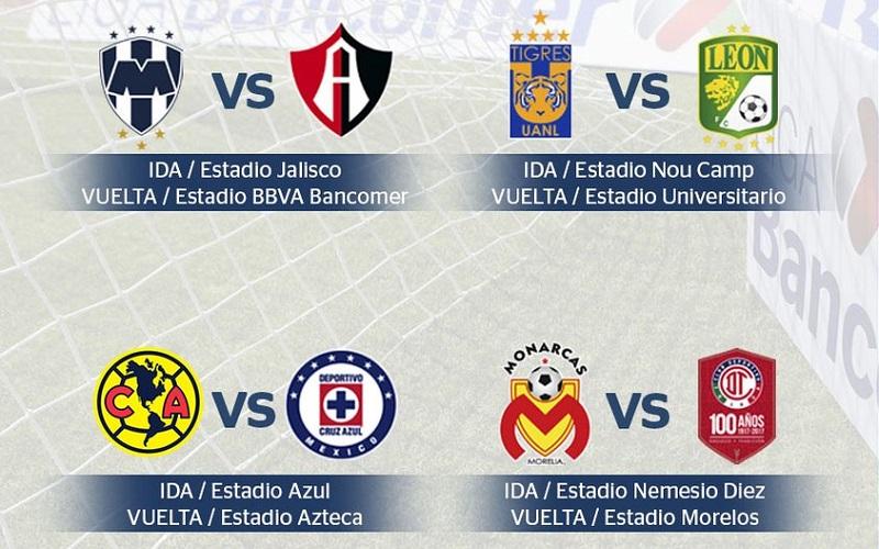 Este lunes se definirán las fechas y horarios de los duelos de cuartos de final