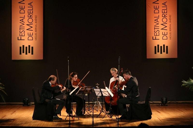"""El programa incluyó el """"Cuarteto para cuerdas No. 1"""", del compositor y pianista noruego Edvard Hagerup Grieg. Así como el Cuarteto para cuerdas No. 5, """"Rosalind"""", del compositor, educador y ambientalista canadiense Raymond Murray Schafer"""
