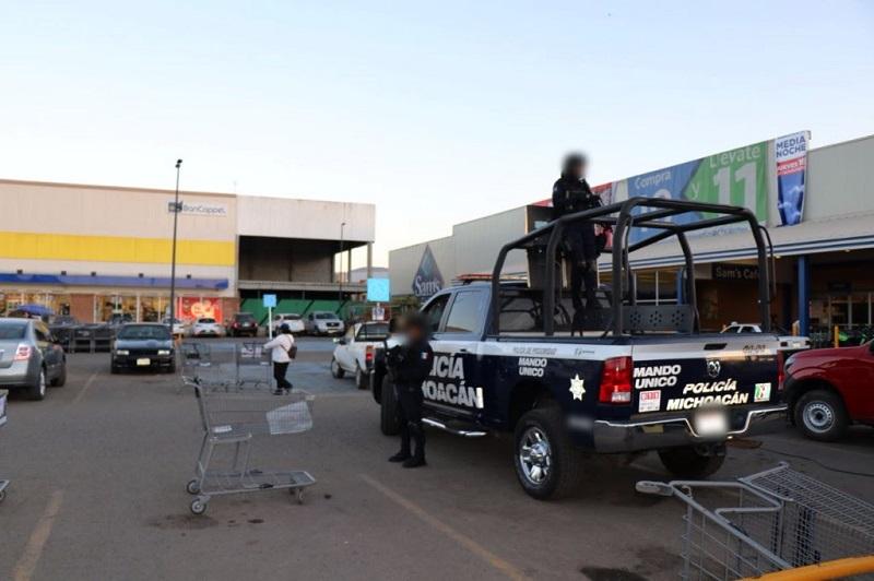 Saldo blanco tras operativo por El Buen Fin en Michoacán: SSP