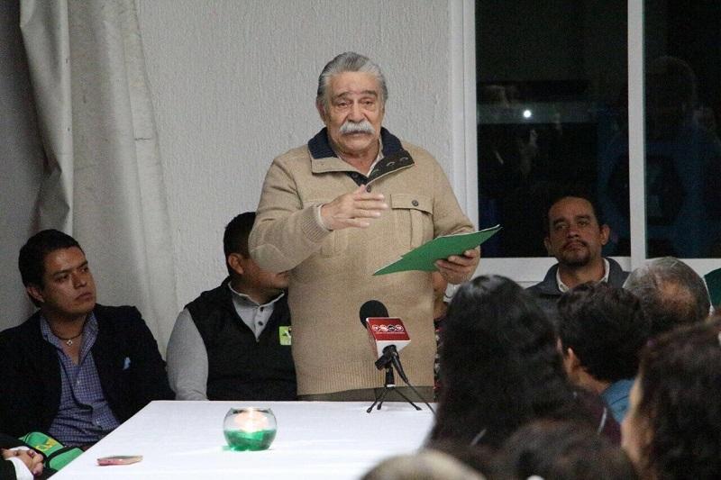 José Alejandro Figueroa López tomó protesta como nuevo secretario del Adulto Mayor en el Partido Verde