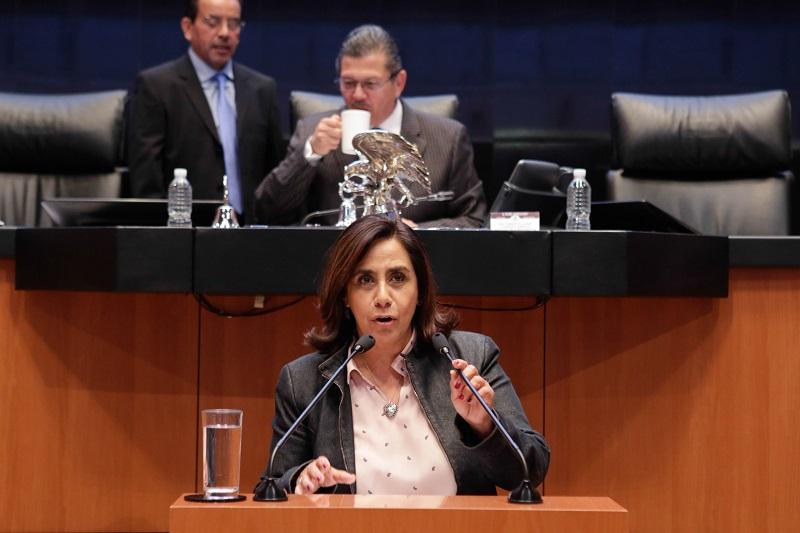 Calderón Hinojosa señaló que el 2017 ha sido para México el año más violento de la historia reciente, y el Observatorio Ciudadano de México estima que cada 18 minutos se comete un homicidio desde enero a la fecha