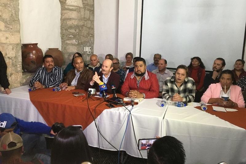"""Vallejo Figueroa dijo que desde la posición que tiene en este momento en la Federación como Subsecretario de Educación Superior, """"tiene la obligación de apoyar a la UMSNH, cuando menos de quedarse callado"""""""