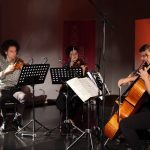 El concierto de música de cámara contemporánea se llevó a cabo en el Centro Cultural Clavijero, ubicado en el corazón de la capital michoacana (FOTO: FMM)