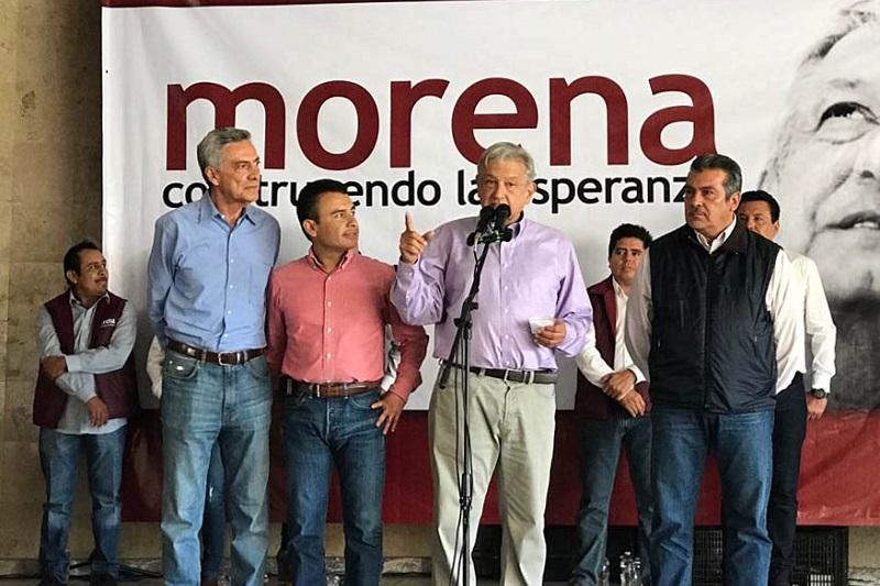 Morón Orozco, indicó que es importante atender lo dicho hoy en los tres municipios que visitó Andrés Manuel en el primero de los cuatro días que estará en Michoacán
