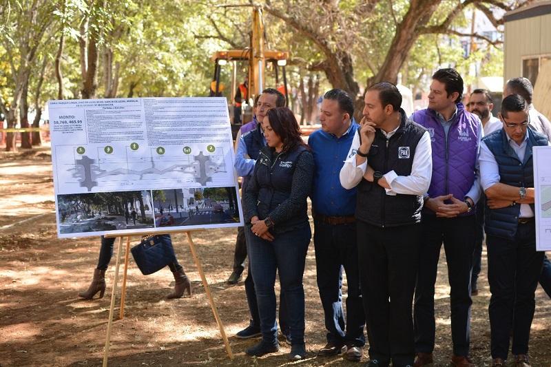 Durante el evento inaugural de la construcción de la obra, ambos legisladores morelianos reiteraron la importancia de concertar acuerdos para el beneficio de la ciudadanía