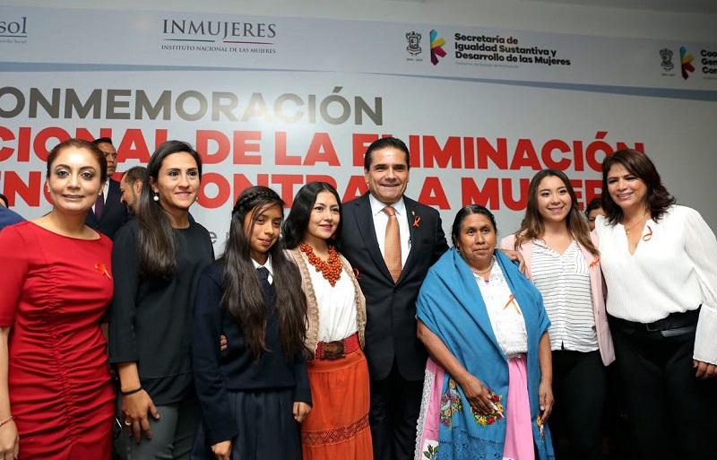 Ambas acciones fueron realizadas en el marco del Día Internacional de la Eliminación de la Violencia Contra la Mujer