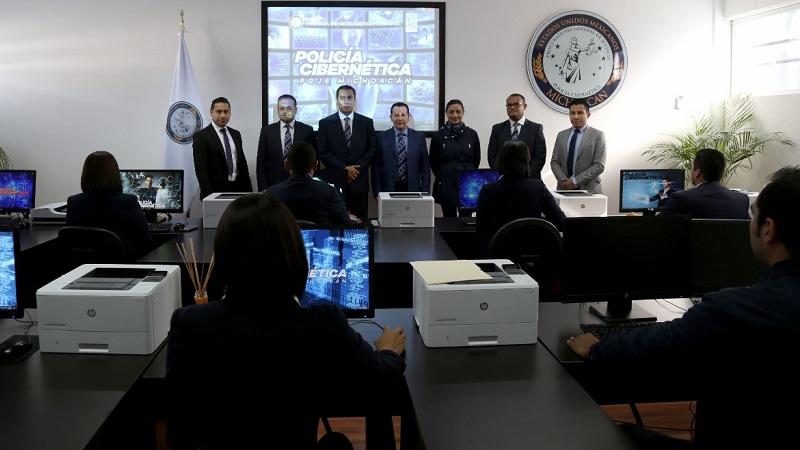 La dependencia estatal refuerza la capacitación de sus elementos para optimizar los procesos de investigación y persecución de los delitos