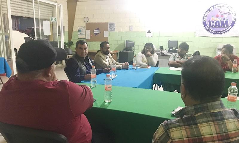 Constantino Ortiz se comprometió a que, a través del Foro de Profesionistas y técnicos de la CNOP, revisarán los proyectos que le fueron entregados