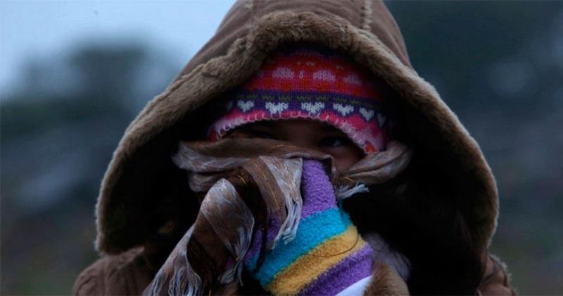 Hoy se prevé ambiente muy frío durante la mañana y la noche en el norte, el centro y el oriente de México