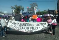 Integrantes del ala radical del magisterio michoacano se concentrarían a partir de las 8:00 horas frente a las oficinas centrales de la SEE