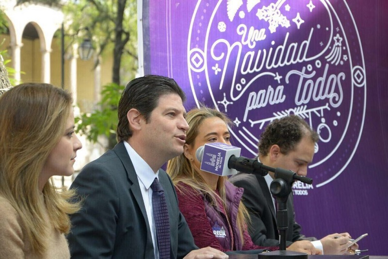 Así lo anunció el Presidente Municipal de Morelia, Alfonso Martínez Alcázar