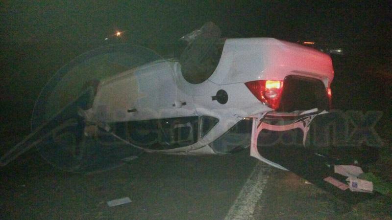 La autoridad competente se hizo cargo de realizar el peritaje del accidente y retirar el vehículo a un corralón del municipio