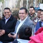 """""""Nos reunimos para darle solución a las demandas del SUTTEBAM, ya quedó cubierto el pago que hacían falta, así mismo de forma pacífica retiraron su toma y regresaran a sus espacios de trabajo a continuar sus labores"""", afirmó Barragán Vélez"""