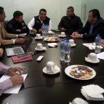 Gómez Arrieta destacó la realización de trabajos coordinados con autoridades municipales y federales para inhibir delitos contra las unidades de los diferentes proveedores y transportistas