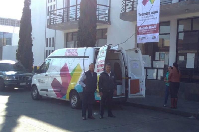 Anuncia SFA sedes de Módulos Móviles de expedición de licencias