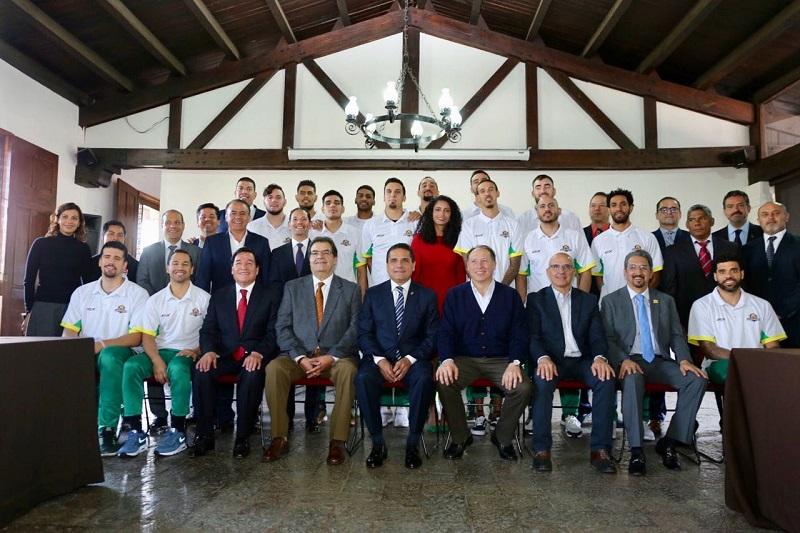 La APEAM participa con una aportación inicial de 5 mdp para incentivar la práctica del deporte y otras actividades integrales a través de las Academias de Básquetbol