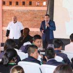 Estas charlas se continuarán impartiendo en los 210 planteles del estado, a los 12 mil 500 alumnos de las diferentes regiones