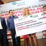 Este año, el Conalep Michoacán alcanzó las 10 mil certificaciones de Microsoft y Excell, avaladas dentro y fuera del país, destaca la titular Minerva Bautista