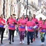 Cerca de dos mil personas participaron en la segunda edición de la Caminata