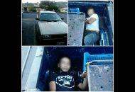 El vehículo, los detenidos y la droga fueron puestos a disposición de la autoridad competente para que continúen con la carpeta de investigación