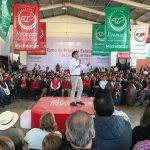 Durante el evento, se renovó formalmente a 1,500 Comités de Base del Movimiento Territorial en Michoacán