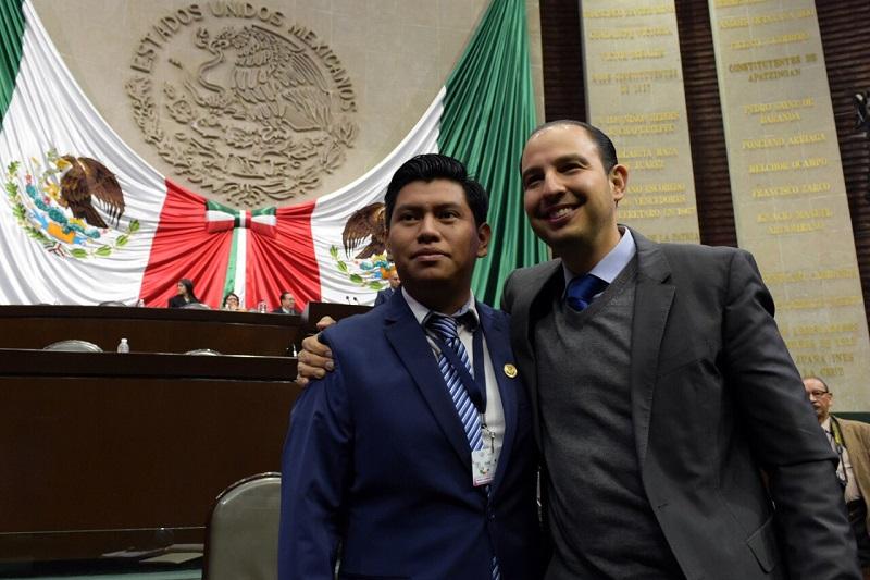 Cortés Mendoza señaló que no es necesario tener un partido político para proponer cambios para México, sino tener la valentía de atreverse a dar el primer paso