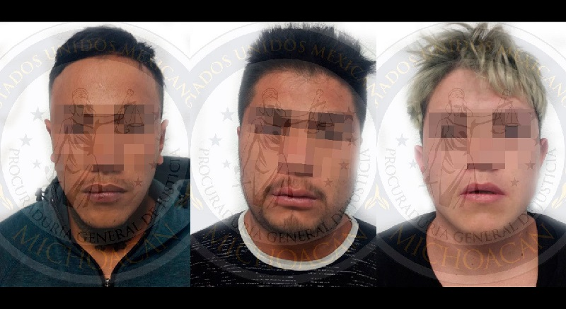 Los ahora detenidos fueron puestos a disposición del Ministerio Público de la UECS, que los presentó ante el Juez de Control y al valorar los datos de prueba aportados los vinculó a proceso por su relación en el delito de secuestro agravado