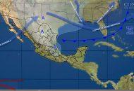 Las bajas temperaturas son ocasionadas por la masa de aire que cubre el norte, el noreste, el oriente y el centro de México y que impulsó al Frente Frío Número 15