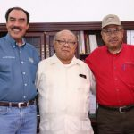 Durante el recorrido el presidente municipal Gilberto Zarco planteó al funcionario Jaime Rodríguez las necesidades que se tienen en el municipio en el sector