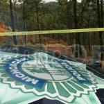 Al lugar acudieron elementos de la Policía Michoacán, los cuales confirmaron la información y resguardaron el lugar, dando de conocimiento a la Fiscalía Regional