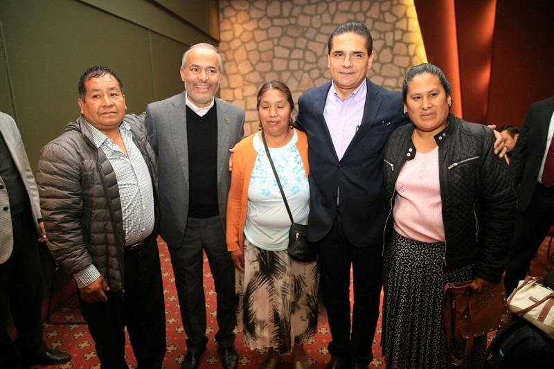 Aureoles Conejo agradeció a la Embajada de EU por apoyar los esfuerzos que el Gobierno Estatal realiza para atender a la población migrante