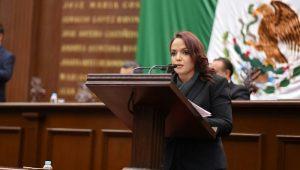 La también integrante de la Comisión de Derechos Humanos, lamentó la intención del Gobierno Federal de militarizar las calles de nuestro país