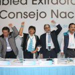 Luis Castro acudió al Instituto Nacional Electoral para registrar formalmente, en el plazo establecido, el acuerdo que comparte con el PRI y el PVEM