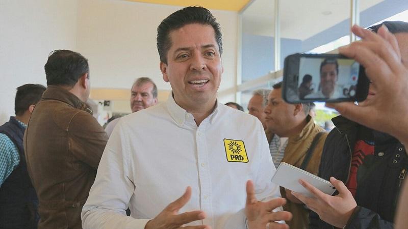 García Conejo, afirmó que para el Sol Azteca es momento de la unidad, de dar ejemplo a nivel nacional, así se demostró este domingo