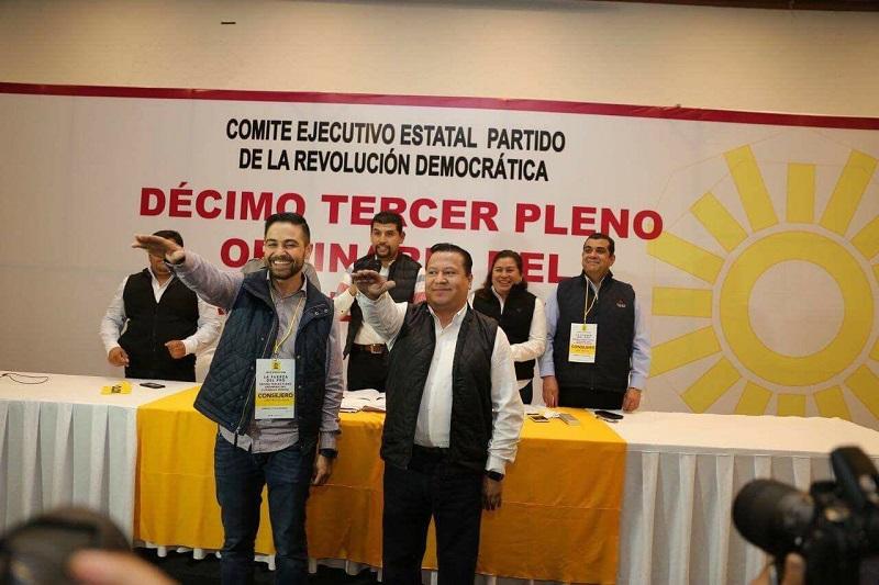 Según comunicado de prensa, el PRD demuestra una vez más su fortaleza y unidad