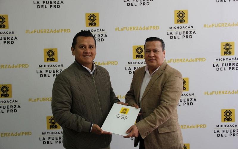 García Avilés argumentó que llega a la Presidencia para seguir con el trabajo realizado en las gestiones anteriores, tomando como base los resultados que se obtuvieron en las elecciones de 2015 y el trabajo en estos últimos 2 años de gobierno