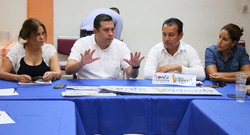 Barragán Vélez mencionó que es muy importante cambiar el rumbo de la ciudad de la cantera rosa, ya que durante estos últimos años se ha mantenido como foco rojo ante la infinidad de problemas sociales que están aquejando a la ciudadanía