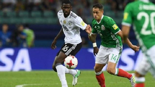 Alemania, actual campeona del mundo y rival del Tri en Rusia 2018, terminará el año 2017 como líder del ranking mundial de la FIFA con 1.602 puntos tras no perder ningún partido en el año natural